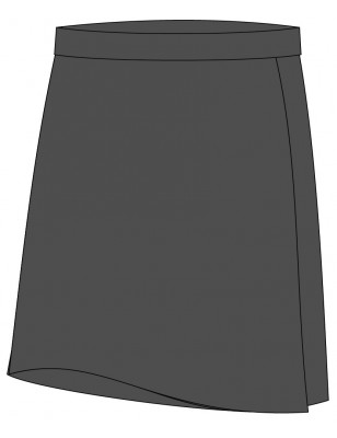 Grey Skorts