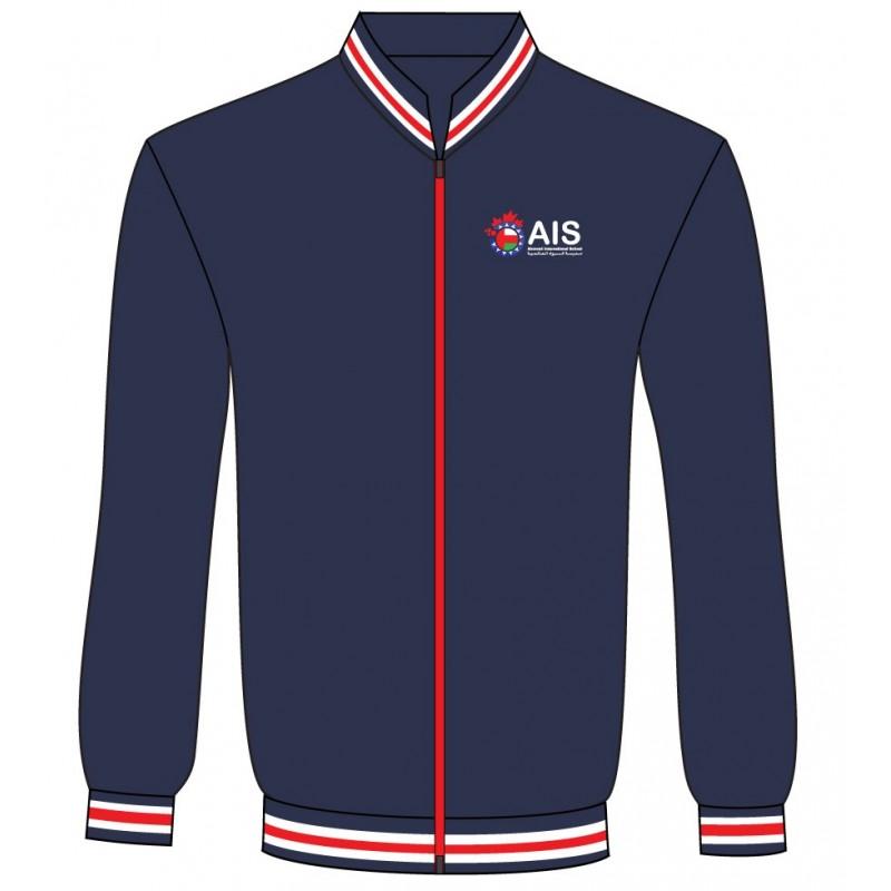 Navy Blue Fleece Jacket -- KG1 - Grade 12 - Zaks Store