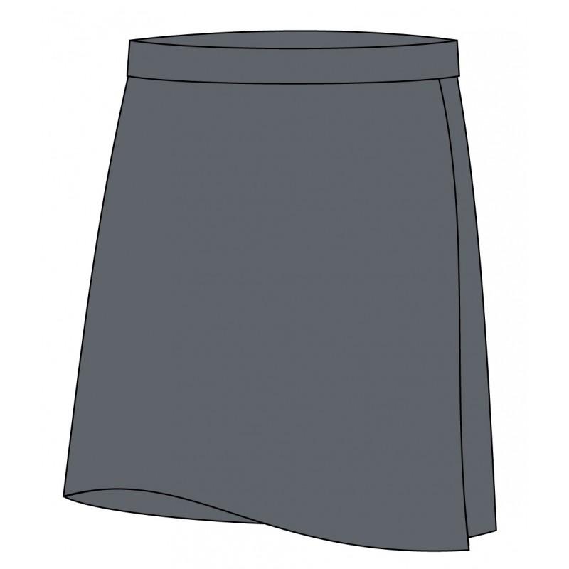 Grey Skort -- [KG - GRADE 5]