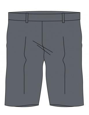 Grey Bermuda Short -- [KG - GRADE 2]