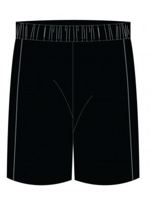 Black [ P.E. ] Short -- [KG - GRADE 6]