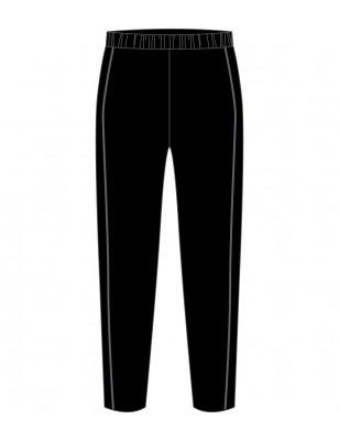 Black [ P.E. ] Track Pants -- [KG - GRADE 6]
