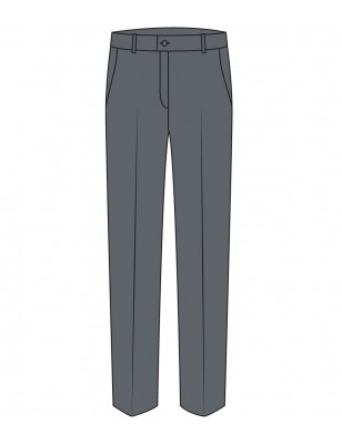 Grey Boys Trouser -- [GRADE 3 - GRADE 6]