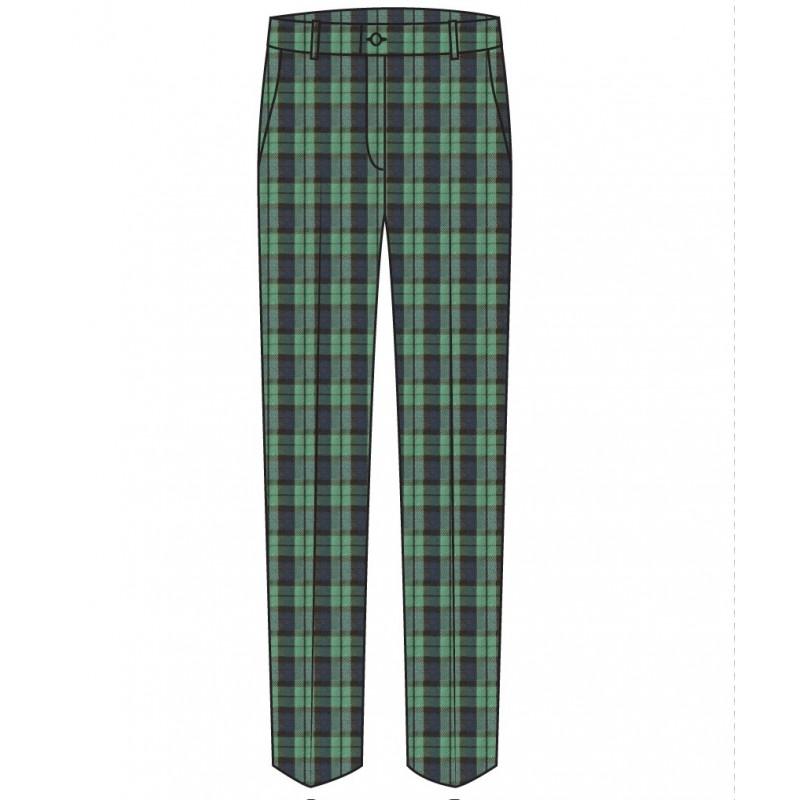 Green Tartan Trouser -- [GRADE 1 - GRADE 5]