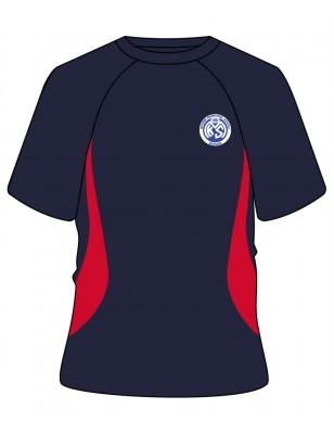 Round Neck [ P.E. ] T.Shirt -- [PRE KG - GRADE 12]