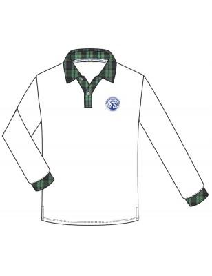 White Polo T.Shirt [G Col] -- [GRADE 1 - GRADE 5]