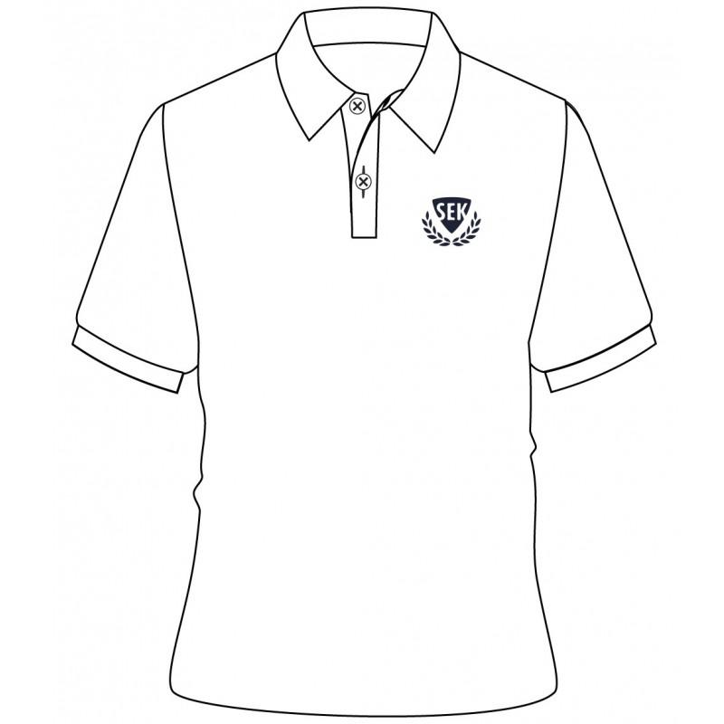 White Polo T-Shirt -- [KG - GRADE 5]