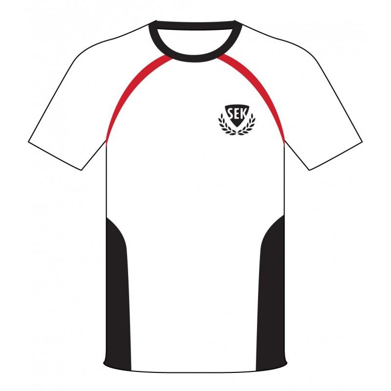White Polo [ P.E. ] T-Shirt