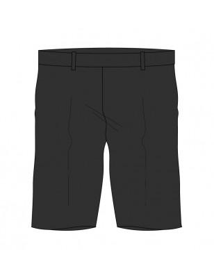 Grey Bermuda Shorts -- [KG1 - GRADE 5]