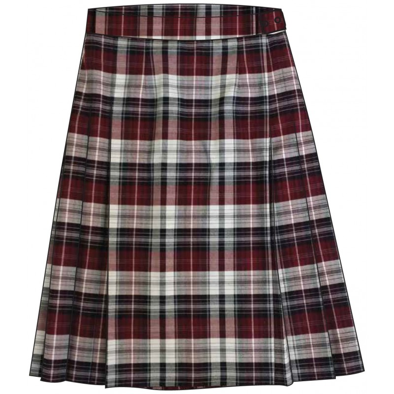 Tartan Skirt -- [KG - GRADE 8]