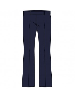 Navy Blue Girls Trouser -- [GRADE 6 - GRADE 12]